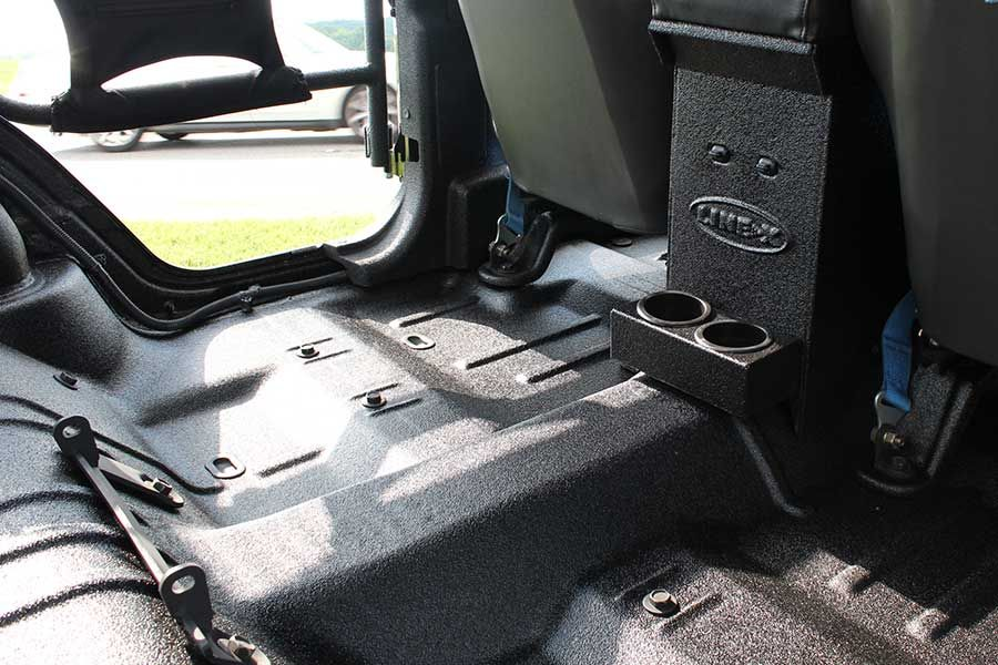 An interior spray (jeep tubs, dash panels, floorboards, and more)
